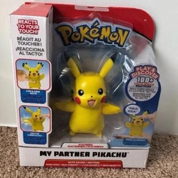 NIB Pokemon My Partner Pikachu interactive toy